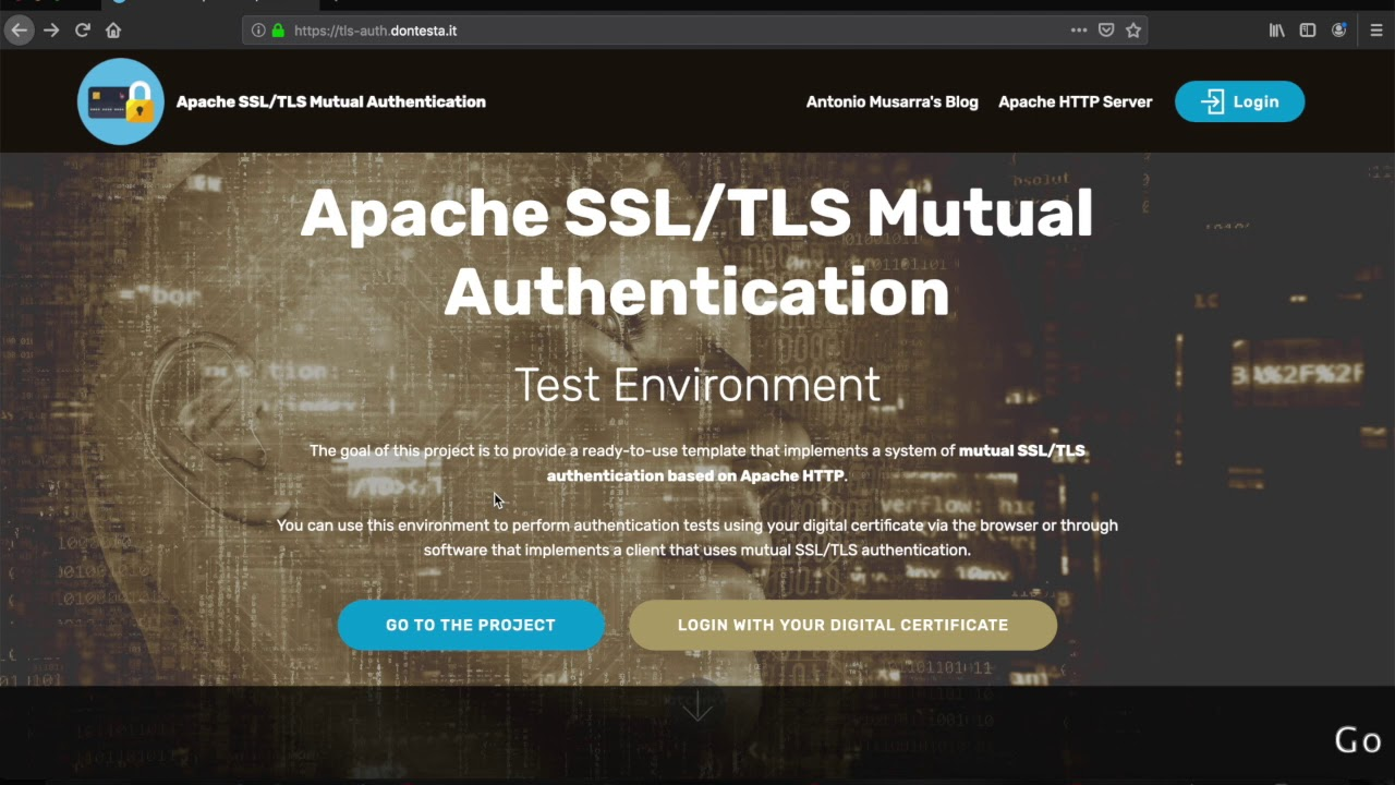 Apache HTTP 2 4: How to Build a Docker Image for SSL/TLS
