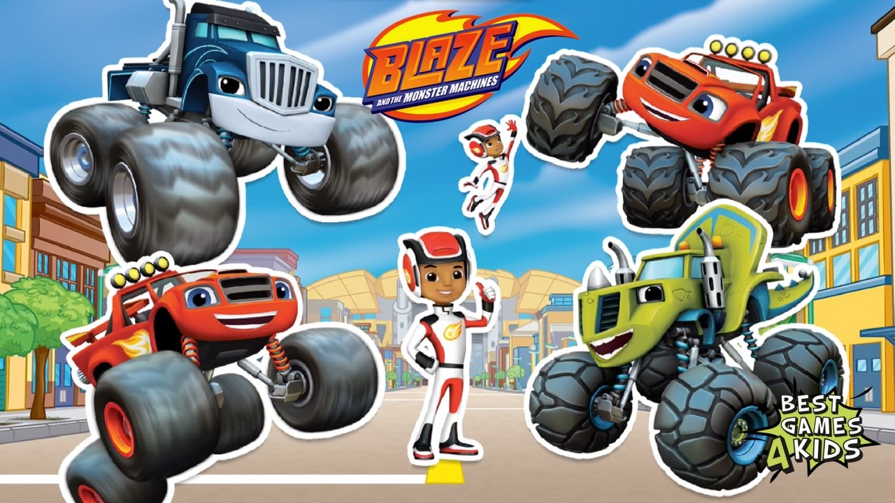 Playtime With Blaze And The Monster Machines Create Your Own