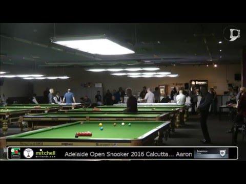 City of Adelaide Snooker 2016 Calcutta