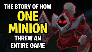 The Story of How a Single Minion Threw a Game of League of Legends...