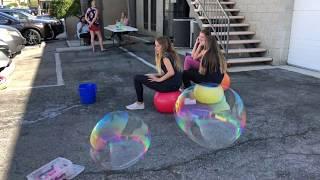 Vlog#7: Один из семейных выходных в Америке, мыльные пузыри, мозайка и утюг, взрослые слова.