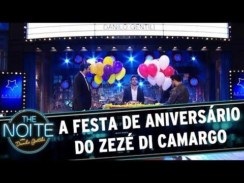 A festa de aniversário do Zezé di Camargo | The Noite (10/08/17)