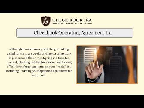 Custodian Approved Ira Llc Checkbook Ira Llc Youtube