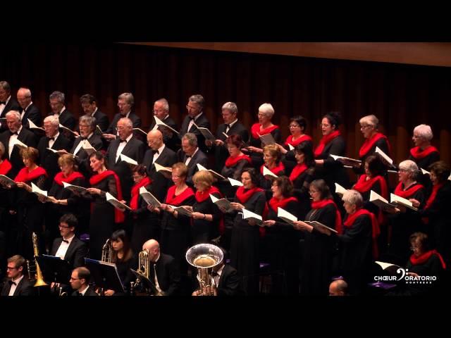 Choeur d'Oratorio de Montreux - Poulenc - Gloria - Domine fili unigenite
