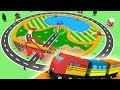 Trains for kids - Chu Chu train - Toy Factory - Toy Train for Kids - Videos for children - Trains