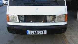 Mercedes MB100D:   Не глушится мотор и не омываются стёкла