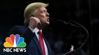 Trump Speaks At New Hampshire Campaign Rally | NBC News (Live Stream Recording)