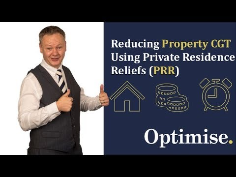 Reduce buy to let Capital Gains Tax (CGT) utilising Private Residence Relief (PRR)