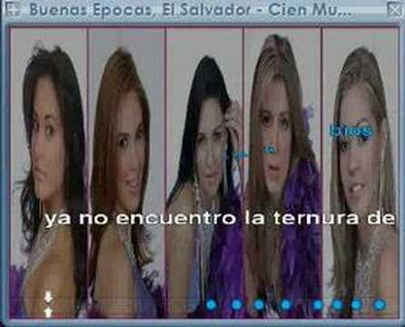 Los Vikings - Cien Mujeres (karaoke)