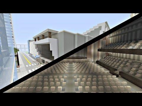 Massive Minecraft Concert Arena