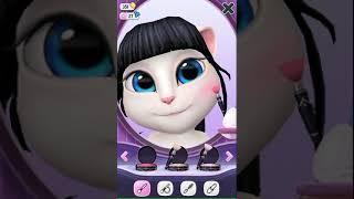 Как сделать макияж кошке Анжела из игры