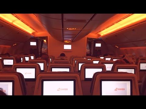 Empty Swiss Boeing 777-300ER Zurich - Hong Kong (HB-JNB)