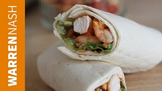 How to wrap a Tortilla - 2 methods in 60 seconds - Recipes by Warren Nash