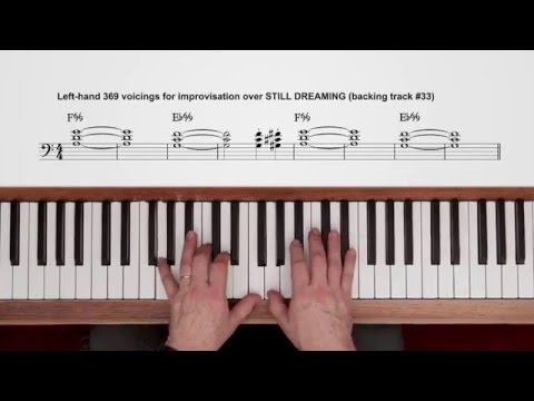 Piano ninth chords piano : Detail for 9th chords