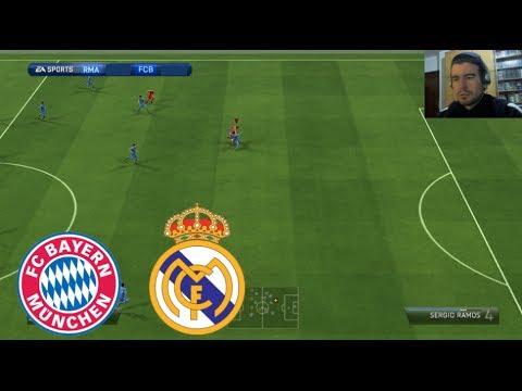 FIFA 14 ONLINE #3 || Bayern Munich - Real Madrid || Partido Comentado en Español HD 2.0
