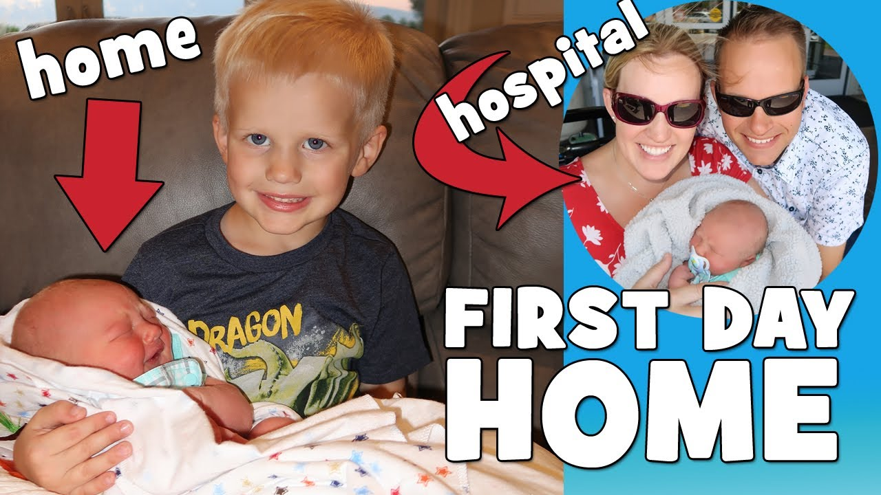 First Day Home With Baby Owen Family Fun Pack