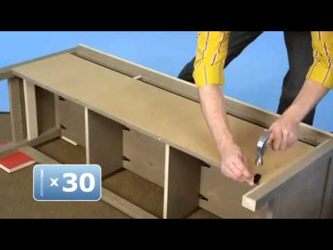 Tv Stand Assembly Instructions Youtube
