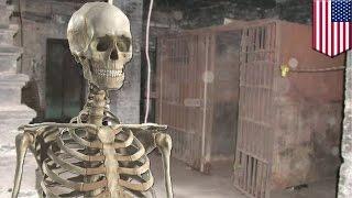kerangka ditemukan dalam sel penjara yang terbengkalai - Tomonews