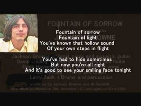 Jackson Browne - Fountain Of Sorrow ( + lyrics 1974)