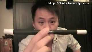 "Andy Ko 魔術教學 On-line Magic Workshop#1 ""build Your Own Magic Wand"""