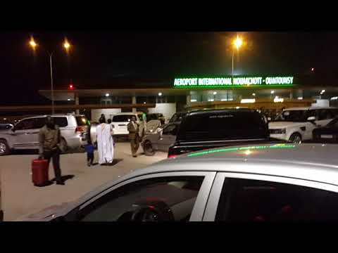 Nouakchott internationale aéroport 10.12.2017 23:50