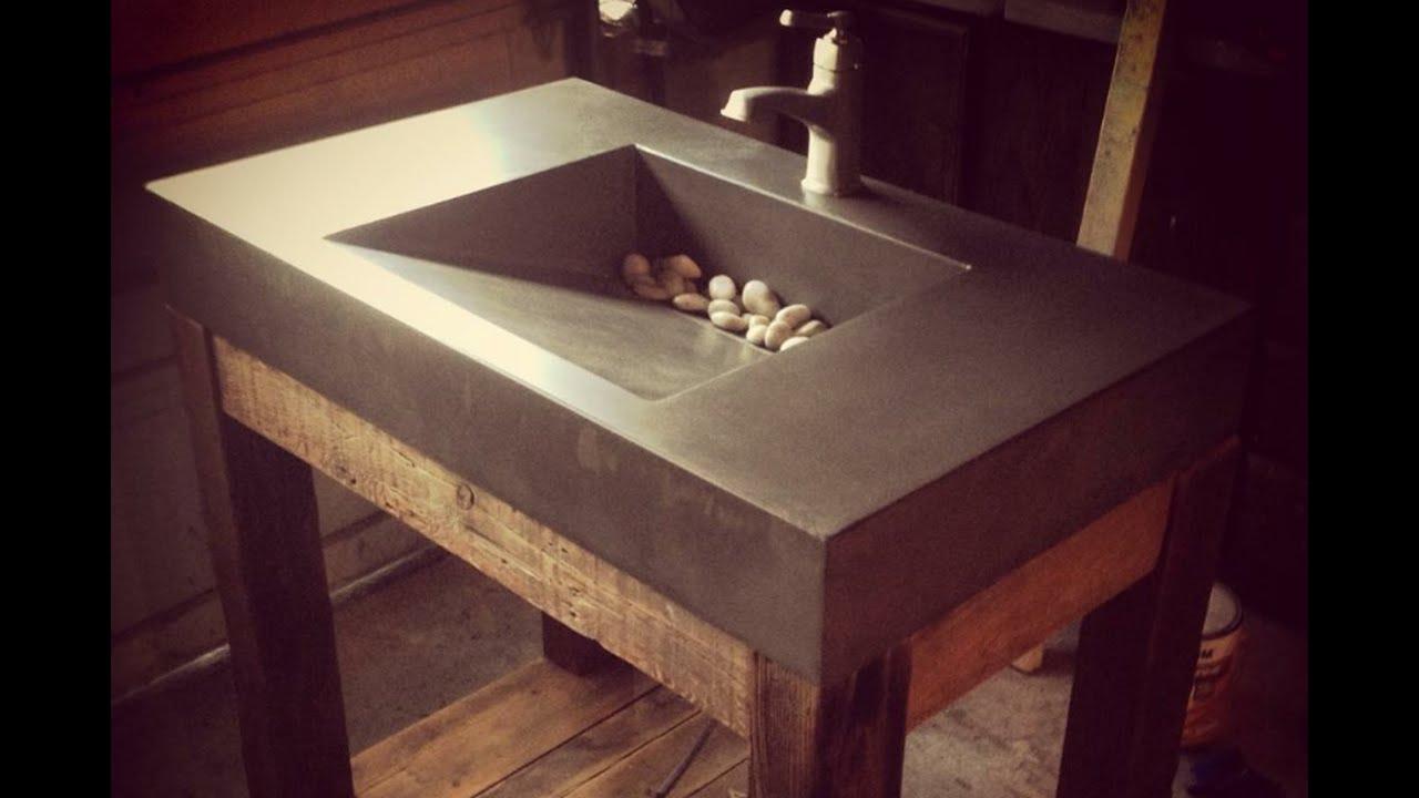 Custom Concrete Kitchen Countertops Utica Ny 315 520 9631 Stoneworks Concrete Artisans Youtube