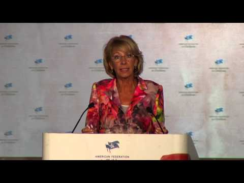2015 AFC Summit: Betsy DeVos - YouTube