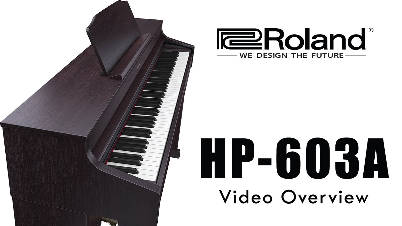 hp 603 603a roland digital piano 2018 youtube. Black Bedroom Furniture Sets. Home Design Ideas