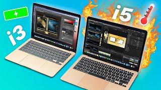MacBook Air 2020 i3 vs i5 | Performance + Battery + TEMP Test!