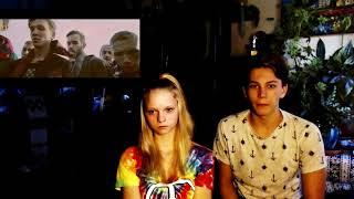 Американские подростки смотрят русские  клипы Интроверт  Жить! Орлы или вороны