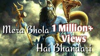 mera-bhola-hai-bhandari-whatsapp-status-song