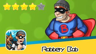 Robbery Bob SuperBob SUBURBS Day30 Walkthrough Recommend index four stars
