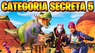 SECRET CATEGORY 5-Fortnite Challenges Week 5 (Battle pass 5)