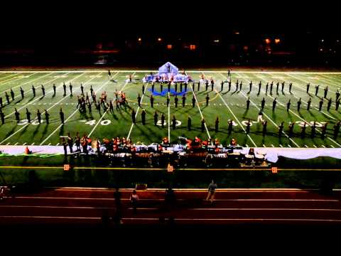"CMBF 2015 - Plainfield North High School Marching Tigers; ""Ascend!"""