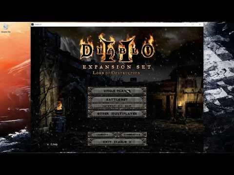 Hacked Sorceress! Diablo 2 Classic Magic Run!