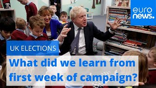 What did we learn from first week of UK election campaign?