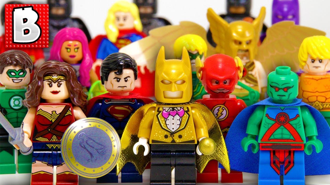 Every Lego Justice League Minifigure Ever Made ...