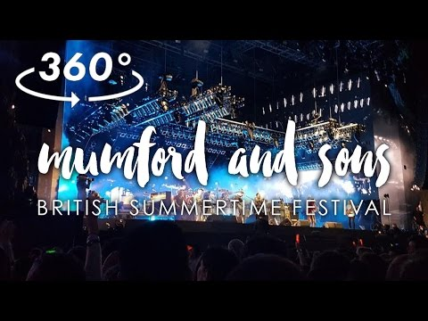 BEST GIG EVER in 360 // MUMFORD AND SONS, BST