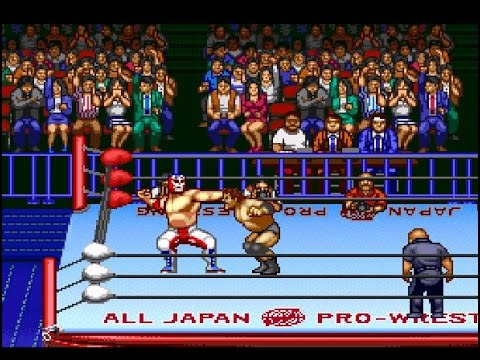 SNES ZenNippon Pro Wrestling 2: 34 Budōkan