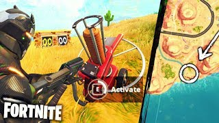NOUVEAU 'TURRET' - Where TO FIND IT!! O-o - France Fortnite Pt.17 [Saison 5] Nouvelles mises à jour - Secret Cannon Gun