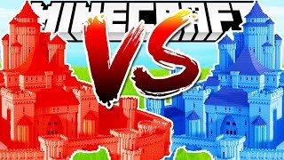 *NEW MEGA* CASTLE WARS THE CRAZIEST BRAND NEW MODDED GAMEMODE EVER - MINECRAFT MODDED MINIGAME