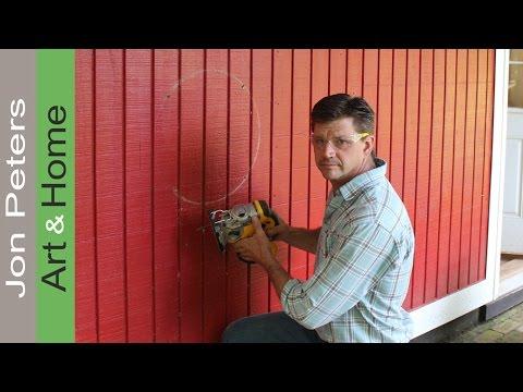 Install an Exhaust Fan in the Shop