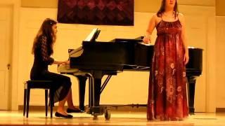 Jennifer Taylor performing Habenera