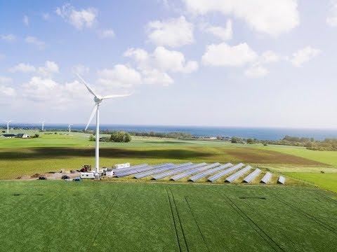 Kan en by bli självförsörjande på förnybar energi?