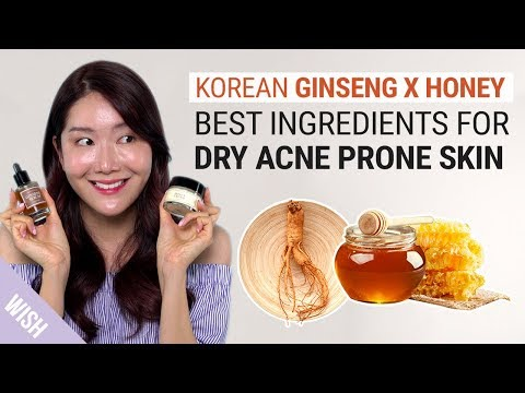 Korean Ginseng x Honey | The Best Natural Serum & Moisturizer Duo for Dry Acne Prone Skin!