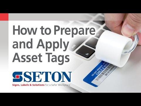 Asset Tags, RFID Tag & Barcode Labels   Seton