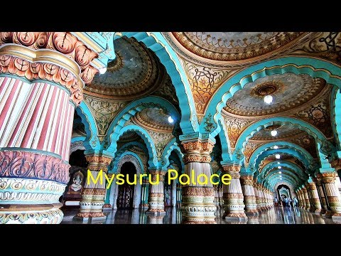 Mysore Palace ಮೈಸೂರು ಅರಮನೆ Inside Videos Mysore Palace Light Show Mysore Tourism Karnataka Tourism