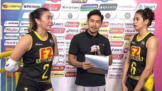 Match MVPs: Aby Maraño and Ara Galang | PSL All-Filipino Conference 2018 Semifinals