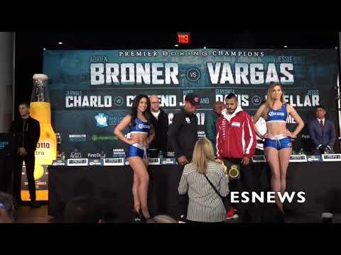 FACEOFF Adrien Broner leaves Jessie Vargas hanging - EsNews Boxing
