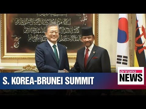 Leaders of Korea-Brunei agree on creating synergy effect of their respective administrative push